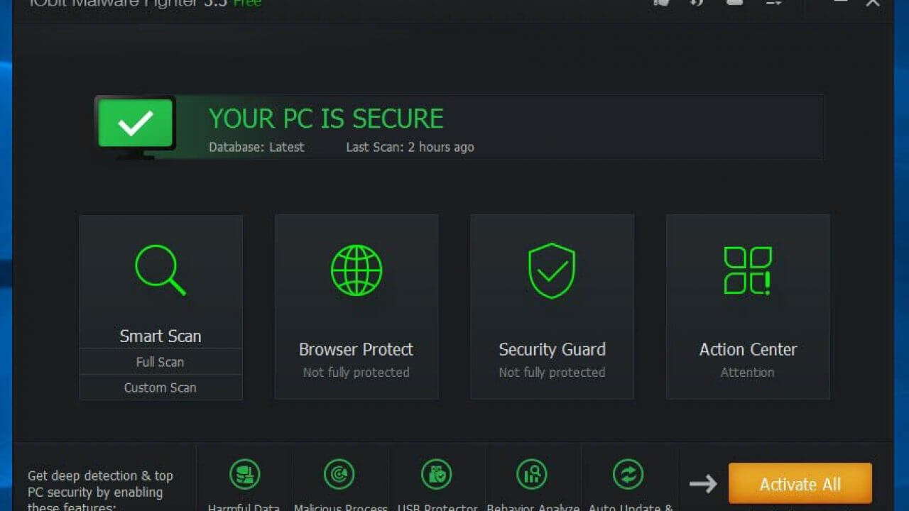 IObit Malware Fighter License key