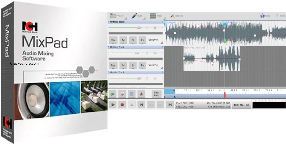 Mixpad Interface
