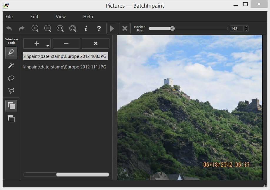 Teorex Inpaint Editing