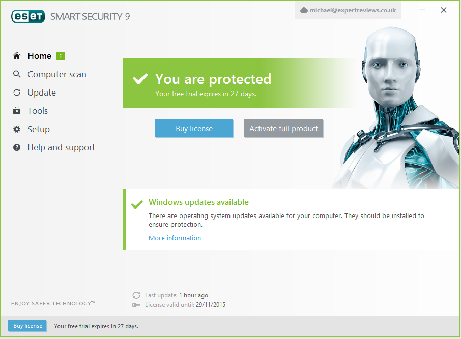 ESET Smart Security 9 Crack is a highly advanced and up-to-date antivirus and malware that makes it the most widely used and reliable software today. This provides a basic type of protection with a comprehensive protection tool for all active devices. The main part of this program is located in NOD32, which creates a custom Internet security system. This device completely eliminates all infections in the system associated with the device.