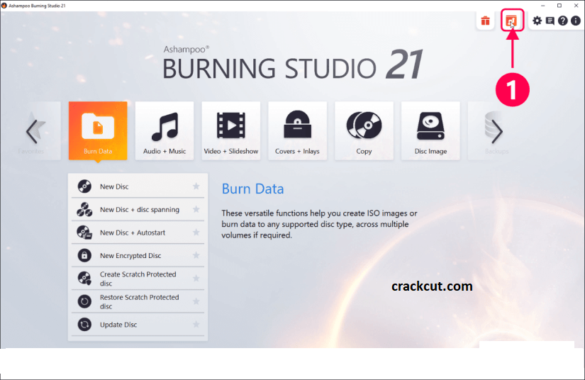 Ashampoo Burning Studio 22.0.0 Crack + Serial Key 2021 Download