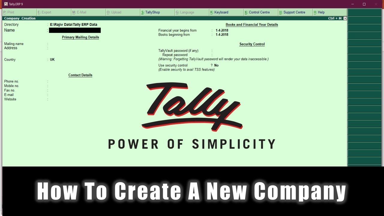 Tally ERP 9 free for mac