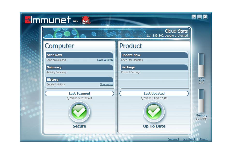 Immunet 7.3.12 Crack Free Download Full version Free Download