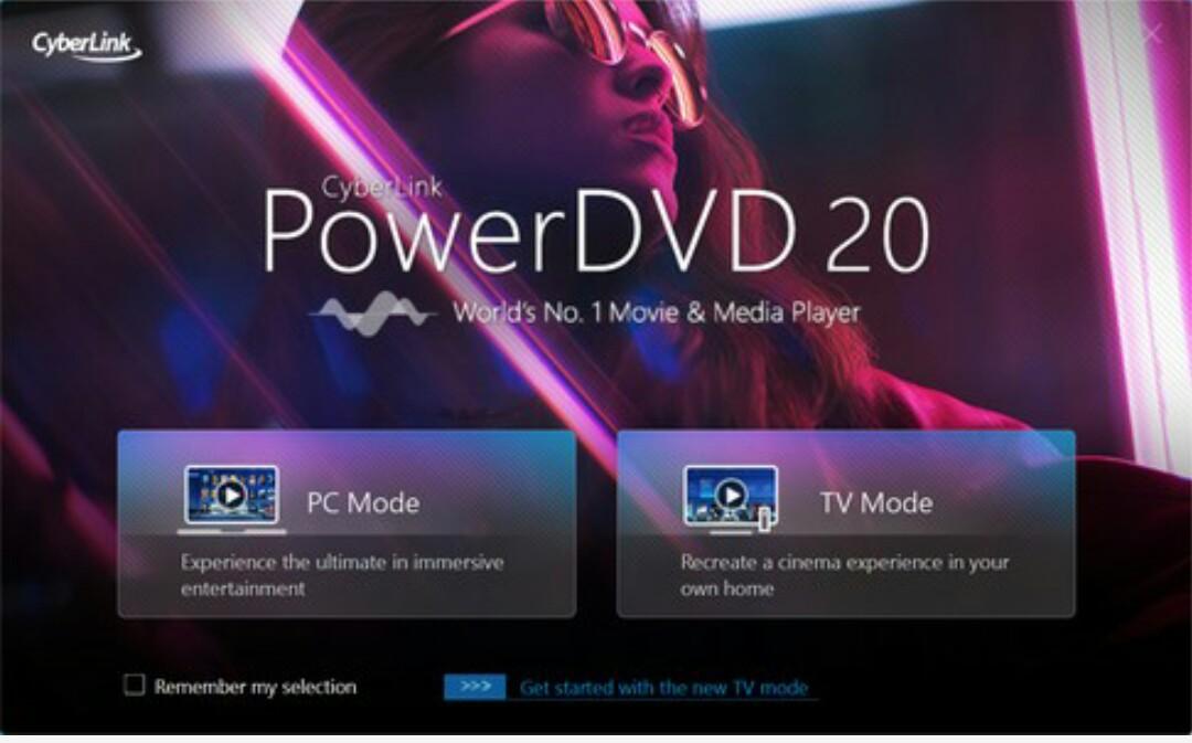 CyberLink PowerDVD 20 activation key