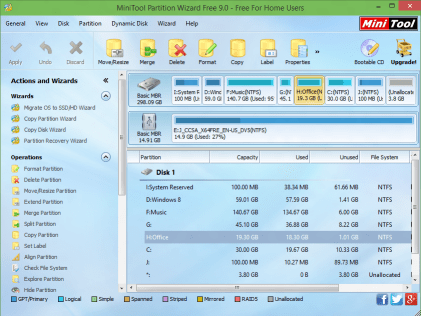 MiniTool Partition Wizard Crack v12.1 With License Key [Latest]